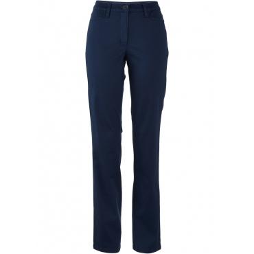 Stretch-Hose in blau für Damen von bonprix