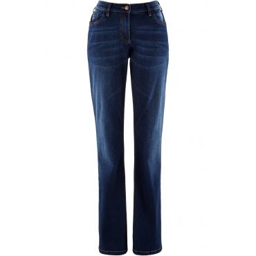 Stretch-Jeans Bootcut in blau für Damen von bonprix