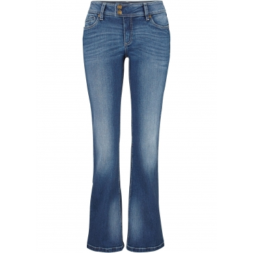 2b4f2ce9ea3d2c Stretch-Jeans BOOTCUT, Normal in blau für Damen von bonprix
