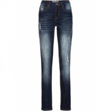 Stretch-Jeans, CLASSIC in blau für Damen von bonprix