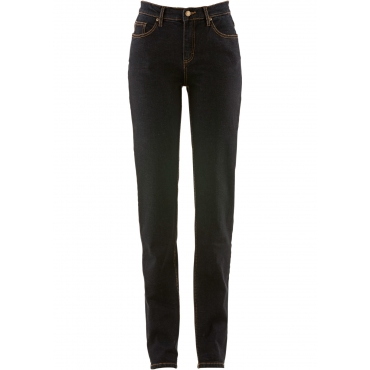 Stretch-Jeans CLASSIC in schwarz für Damen von bonprix