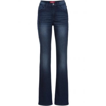 Stretch-Jeans FLARED in blau für Damen von bonprix