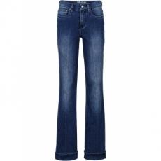 Stretch-Jeans im Flared-Look in blau für Damen von bonprix