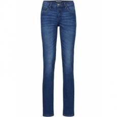 Stretch-Jeans im Straight Fit in blau für Damen von bonprix