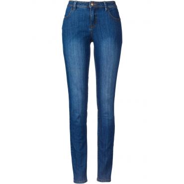 Stretch-Jeans in 7/8-Länge in blau für Damen von bonprix