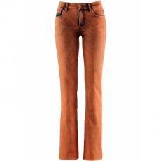 Stretch-Jeans in orange für Damen von bonprix