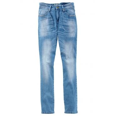 Stretch-Jeans, Normal in blau für Damen von bonprix