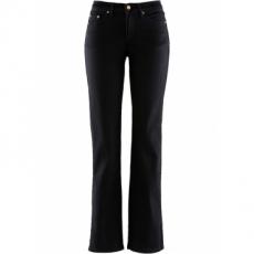 Stretch-Jeans Schlankmacher in schwarz für Damen von bonprix