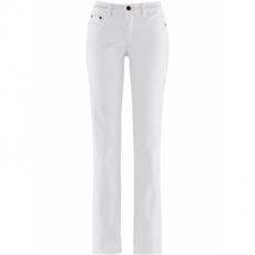 Stretch-Jeans Schlankmacher in weiß für Damen von bonprix
