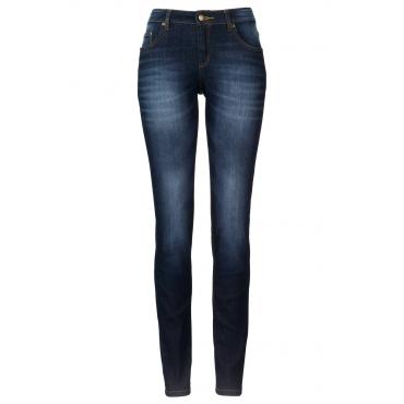 Stretch-Jeans SKINNY in blau für Damen von bonprix