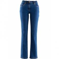 Stretch-Jeans STRAIGHT in blau für Damen von bonprix