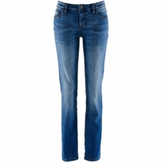 Stretch-Jeans Straight in blau für Damen von bonprix