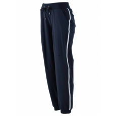 Stretch-Jogginghose in blau für Damen von bonprix
