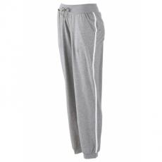 Stretch-Jogginghose in grau für Damen von bonprix