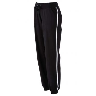Stretch-Jogginghose in schwarz für Damen von bonprix