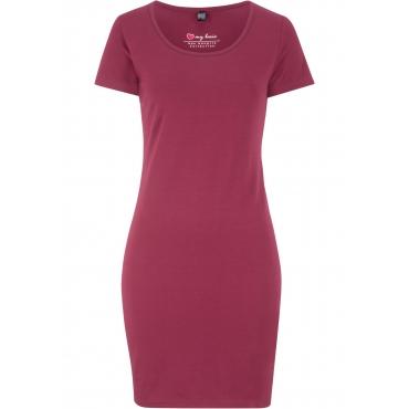 Stretch-Kleid kurzer Arm  in lila für Damen von bonprix