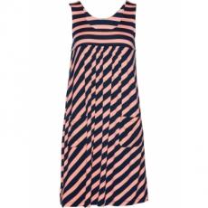 Stretch-Kleid ohne Ärmel  in rosa von bonprix