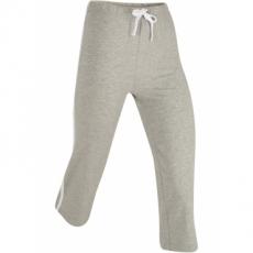 Stretch-Sportcapri in grau für Damen von bonprix
