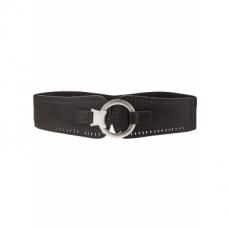 Stretch-Taillengürtel in schwarz für Damen von bonprix