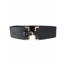 Stretchgürtel mit Details in schwarz für Damen von bonprix