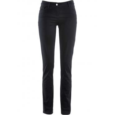 Stretchhose Straight in schwarz für Damen von bonprix