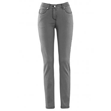 Megastretch-Jeans in grau für Damen von bonprix