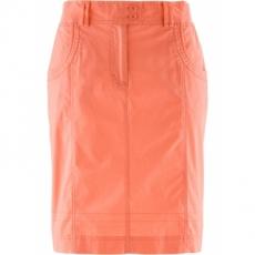 Stretchrock in orange für Damen von bonprix
