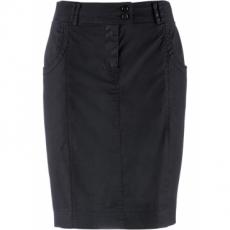 Stretchrock in schwarz für Damen von bonprix