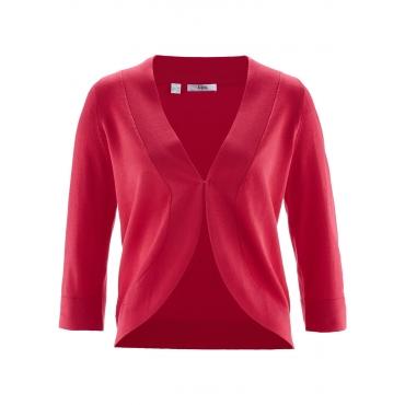 Strick-Bolero mit Halbarm in rot für Damen von bonprix