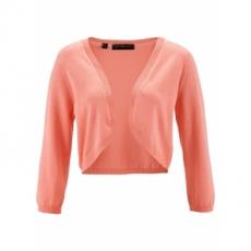 Strickbolero 3/4 Arm  in rosa für Damen von bonprix