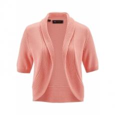 Strickbolero kurzer Arm  in rosa für Damen von bonprix