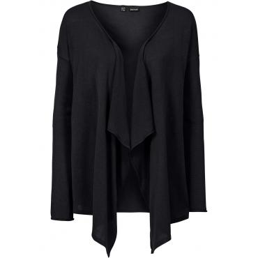 Strickjacke in schwarz für Damen von bonprix