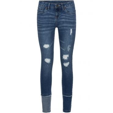 Super Skinny Jeans in blau für Damen von bonprix