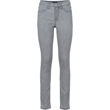 Super-Stretch-Jeans in grau für Damen von bonprix