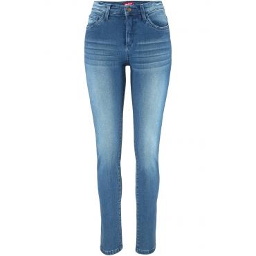 Super-Stretch-Jeans SLIM mit Schlankeffekt in blau für Damen von bonprix