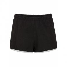 Sweat-Shorts in schwarz für Damen von bonprix