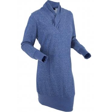2bd00d4bf2faa6 Sweatkleid langarm in blau für Damen von bonprix