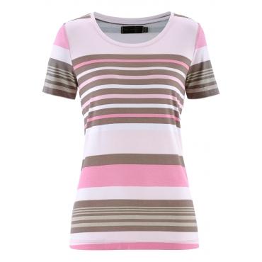 T-Shirt, Kurzarm in rosa für Damen von bonprix