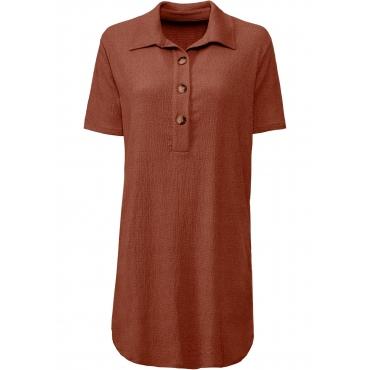 Tunika-Kleid halber Arm  in orange für Damen von bonprix