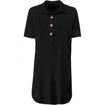 Tunika-Kleid halber Arm  in schwarz für Damen von bonprix