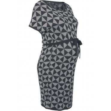 Umstandskleid in Strick halber Arm  in schwarz für Damen von bonprix