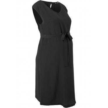Umstandskleid Flügelärmel  in schwarz für Damen von bonprix