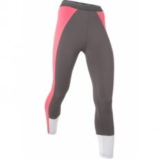 Wadenlange Funktions-Leggings in grau für Damen von bonprix