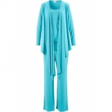 Wellness-Anzug im Beutel (3-tlg. Set) in blau für Damen von bonprix