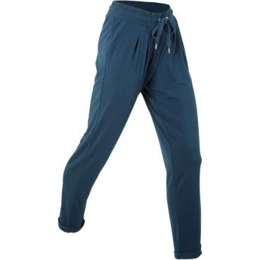 Wellness-Hose, lang in blau für Damen von bonprix