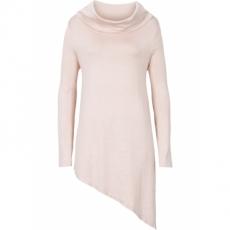 Zipfel-Pullover in beige für Damen von bonprix