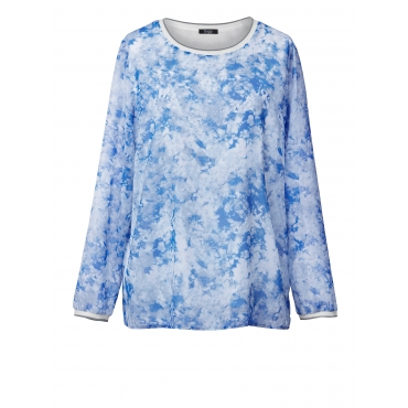 2-in-1-Bluse Frapp Hellblau
