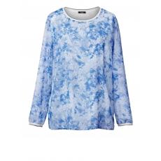 2-in-1-Bluse Frapp offwhite-bleu