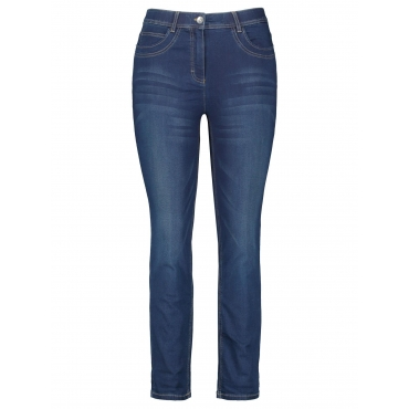 5-Pocket Jeans in 7/8 Länge Betty Jeans Samoon Dunkelblau Denim