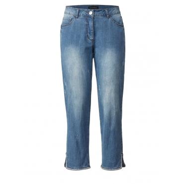 7/8-Jeans mit Straßsteinen Sara Lindholm blue-denim